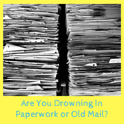 Are You Drowning In Paperwork?
